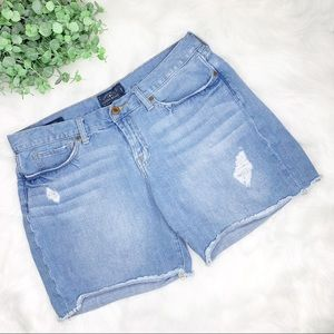 LUCKY BRAND Distressed Laguna Cut Off Jean Shorts